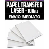 100f Papel Transfer Laser Para Caneca Caneta Copo Long Drink