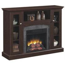 Mueble Calefactor Chimenea Eléctrica Contemporánea 121cm R/c