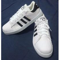 Zapatos Adidas Super Star Damas Y Caballeros Calidad 100%