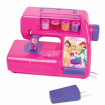 Máquina Costura Infantil Ateliê Das Princesas Disney Br026