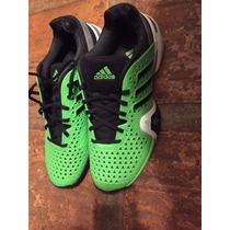 Zapatos Adidas Barricade 8 Tenis Talla 10 Y 1/2 Nuevos
