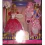 Barbie 12 Princesas Genevie Trae Zapatillas Para Niñas