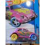 Fusca Rosa T Hunt Rodas Coloridas Volkswagen Beetle 2015
