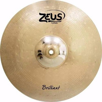 Prato Bateria Zeus Brilliant Crash Ataque 16 B20