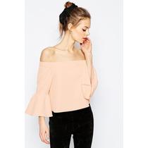 Blusas Limonni De Mujer Campesinas De Moda Colores 029