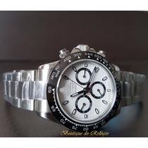 Relógio Máq. Eta Valjoux Daytona Dial Branco Baselworld 2016