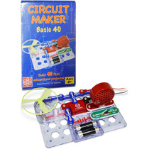 Elenco Circuit Maker 40 Basic Electronics Discovery Kit