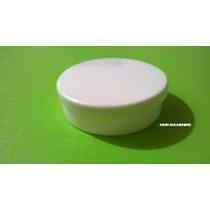 Latas Pastilleras X10 Und, De 5x1.5cm De Plástico, Blancas