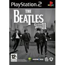 Comprar Jogo Guitar Hero Patch The Beatles Playstation 2 Ps2