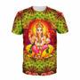 Camisa Psy Rave Camiseta Psicodélica Trance Indiana Ganesha
