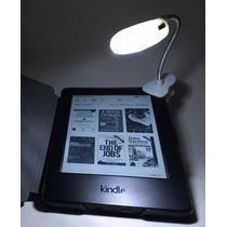 Luz Led Para Kindle/kobo/lev - Baterias Inclusas + 50 Ebooks