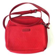 Bolsa Feminina Liz Claiborne Vermelha Alça Ajustavel B3302
