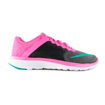 Tenis Nike Fs Lite Run 3 - Rosa Con Negro 807145-011
