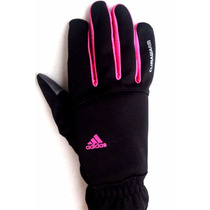 Adidas Guantes Termicos Mujer Dedos Touch Running Bolso Zipp