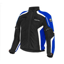Campera Moto Motorman Orion Black Blue Azul Urquiza Motos