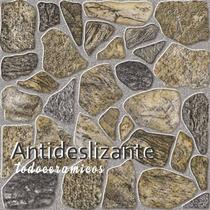 Ceramica Simil Piedra Antideslizante Alberdi 2ºcal.temperley