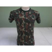 Camiseta Camuflada Algodao