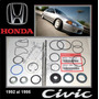 Civic 1992 95 Kit Cajetin Direccion Hidraulic Original Honda
