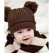 12 Gorros Tejidos Para Bebés Niños