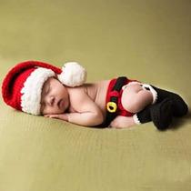 Disfraz Crochet Bebe. Navidad