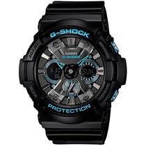 Relógio Masculino Casio G-shock Ga-201ba-1a 51mm Preto