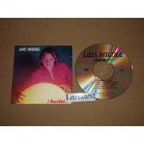 Luis Miguel Decidete 1983 Emi Cd