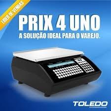f927fc6d9 Balança Toledo Prix 4 Uno Com Impressora De Codigo De Barras - R ...