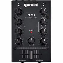 Gemini Mm1 Mezclador 2 Canales Mm-1