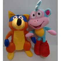 Raposo, E Macaco Botas Juntos, Turma Da Dora.