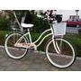Bicicleta Retro Dama Y Caballero Coral Menta Varios Colores