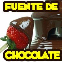 Fuente De Chocolate Guia De Negocio Y Recetario Gratis