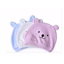 Touca Maternidade Nascido Gorro Bebê Rosa Ou Azul