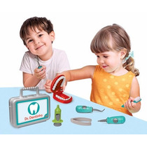 Brinquedo Faz De Conta Dr. Dentinho Dentista Loja Fisica