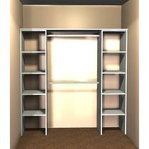 Interior Placard Blanco+abs 1.80 Ancho X 1.80 Alto X 0.45 M.