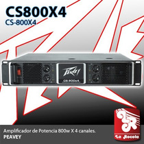 Power Amplificador Peavey Cs-800x4 Porfesional