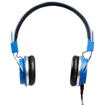 Headphone Bomber Quake Cabo Flat Hb02 Blue