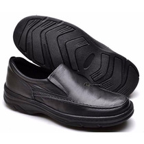 Sapato Social Masculino Casual Flexível Leve Antistresse