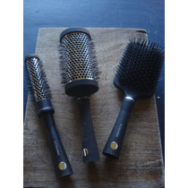 Set 3 Cepillos 3 Claveles Brushing Y Neumático
