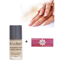 Base Tratamento Para Unhas Fracas Original La Beauté