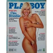 Revista Playboy Cléo Brandão Maio/1999
