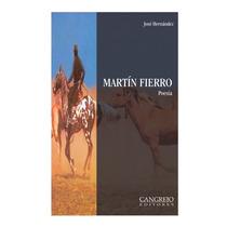 Libro Martín Fierro Cangrejo E.
