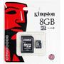 Memoria Micro Sd 8gb + Adap Sd Clase 10 Local Nueva Córdoba