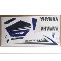 Jogo De Adesivos Xtz 125 Azul 2012 E 2013