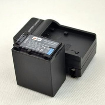 Kit Bateria Np-fv100 + Carregador P/ Sony Handycam Hdr-pj230