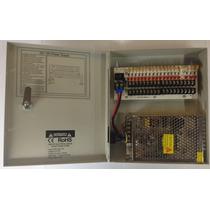 F12v10a18c - Fuente De Poder 12v 10amperes Con Distribuidor