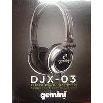 Audífono Profesional Gemini Djx-03 - Nuevo De Paquete.