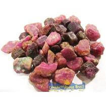 Rubi Indiano Unid. 1cm Pedra Gema Mineral Natural P/ Coleção