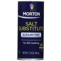 Sustituto De Sal Morton, 3.12-onza (88,6 G) - Paquete De 6