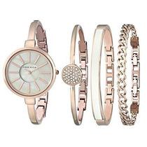 Reloj Anne Klein Ak/1470rgst Dorado