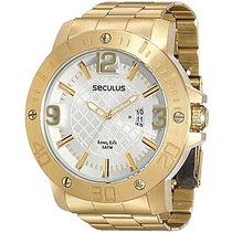 Relógio Seculus Masculino Long Life 28520gpsvda2